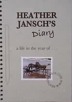 Heather Jansch's Diary artists book