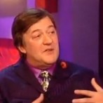 """It's well book!"" Stephen Fry on language"