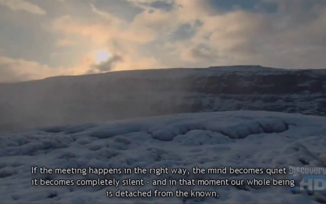 The Silence of the Mind – Living in the Moment