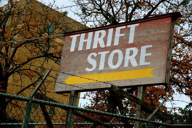 Thrift Store - Steve Snodgrass (Flickr)